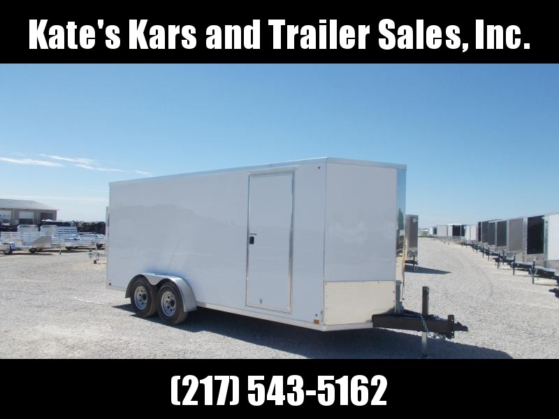 *NEW* Cross 7X18' Extra Tall Heavy Duty 9990 GVWR Construction Enclosed Cargo Trailer
