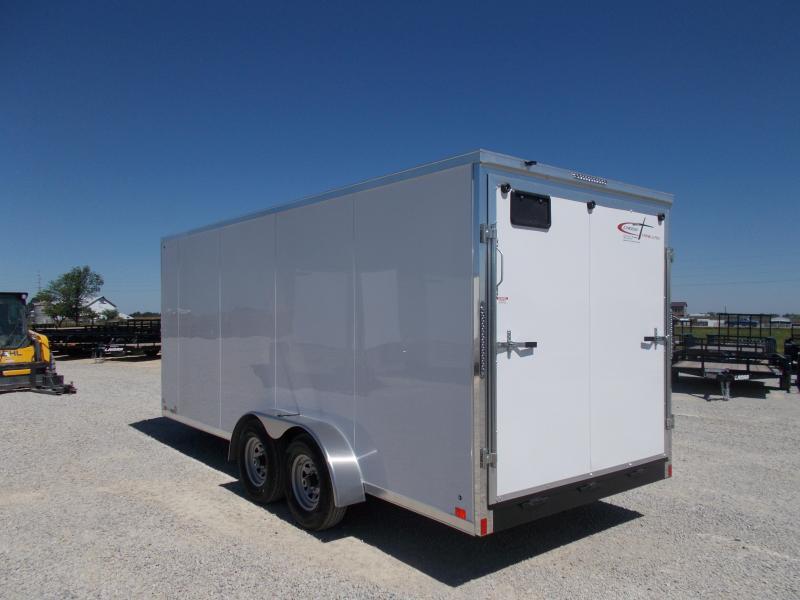 *NEW* Cross 7X18' Extra Tall Heavy Duty 9990 GVWR Construction Enclosed Cargo Trailer