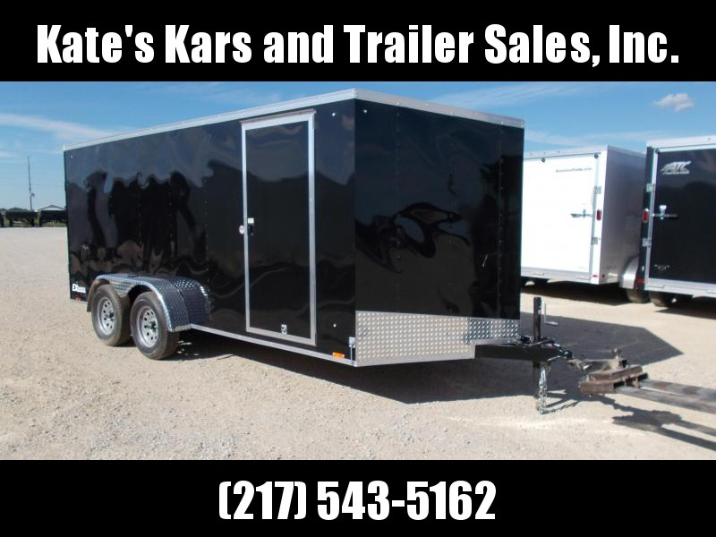 *NEW* Cargo Express 7X16' Enclosed Trailer Cargo