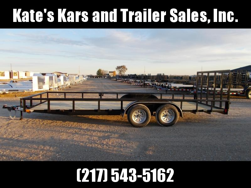 *NEW* Lamar 83X20' Tandem axle PIPETOP  Utility Trailer
