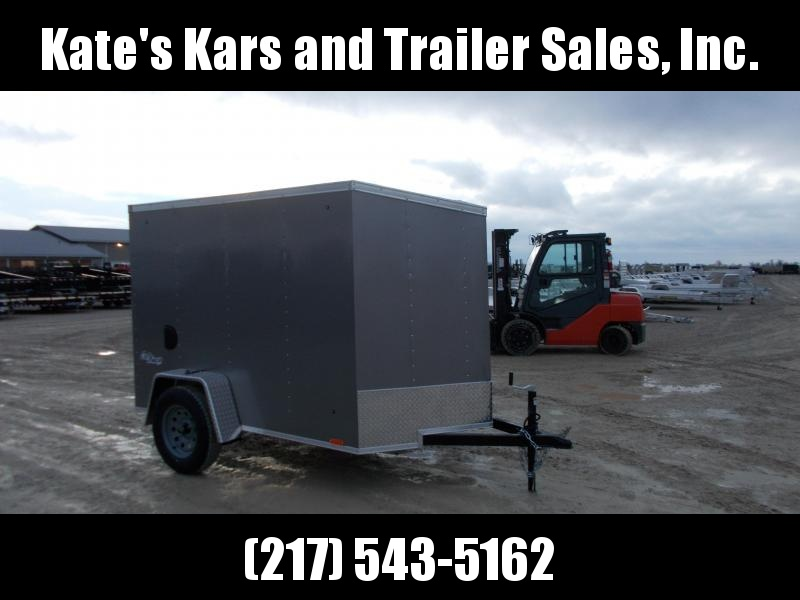 *NEW* Pace American 5X8' Enclosed Cargo Trailer W/ Ramp door
