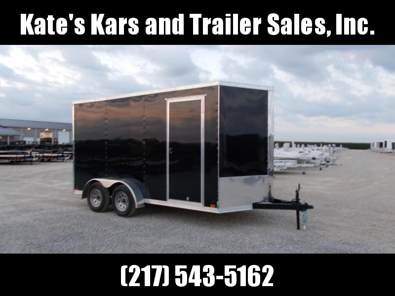 2019 Cross Trailers 7X14 TA BP Extra 12 Height Enclosed Cargo Trailer
