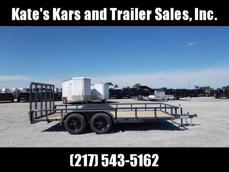 2019 Lamar 16' Utility Trailer with spring load ramp in Ashburn, VA