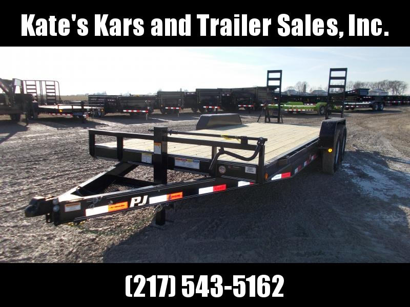 *NEW* PJ Trailers 20' Equipment Trailer 14K LB GVWR Flatbed Trailer