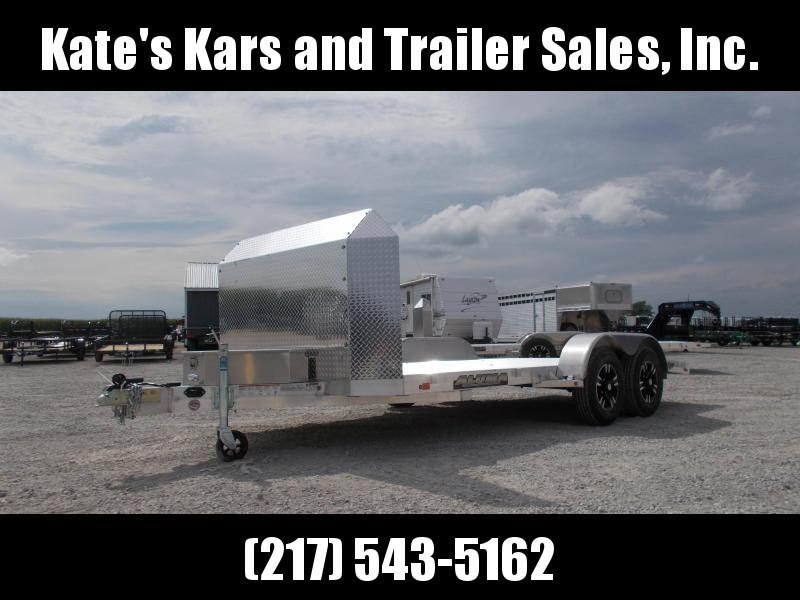 BEST Price on ALUMA 16' Trailer 8216B Anniversary Edition Aluminum Car / Racing Trailer
