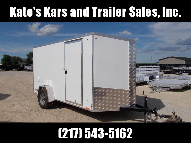 *NEW* Cargo Express SMOOTH Sided 6x12' Enclosed Trailer
