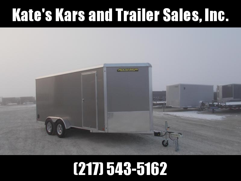 *NEW* Aluma 7X16' Aluminum Cargo Enclosed Trailer Extra Tall