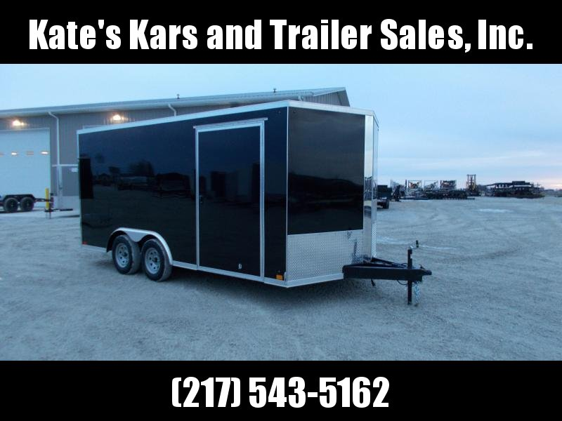 2020 Cross Trailers 8.5X16' Screwless Sided Enclosed Trailer Enclosed Cargo Trailer