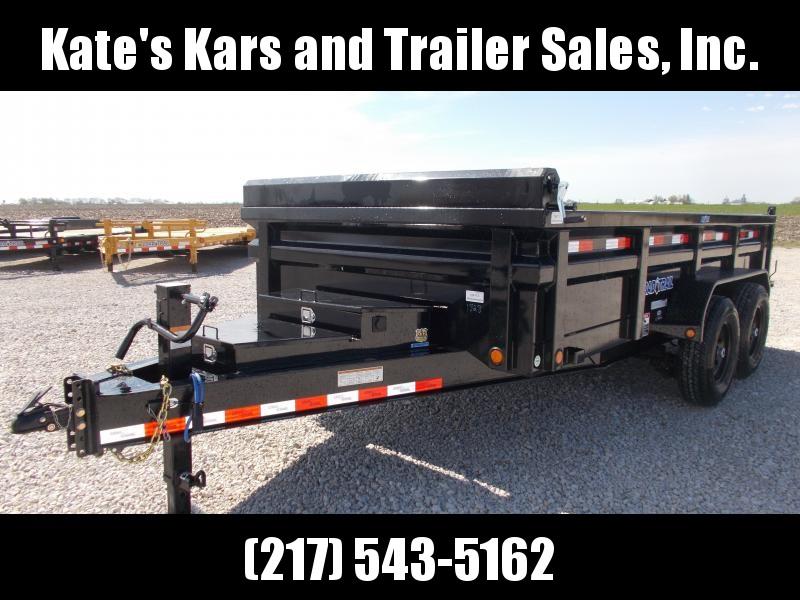 *NEW!! Load Trail 14' Low Pro 7GA Floor Dump Trailer 14K LB DH8314072