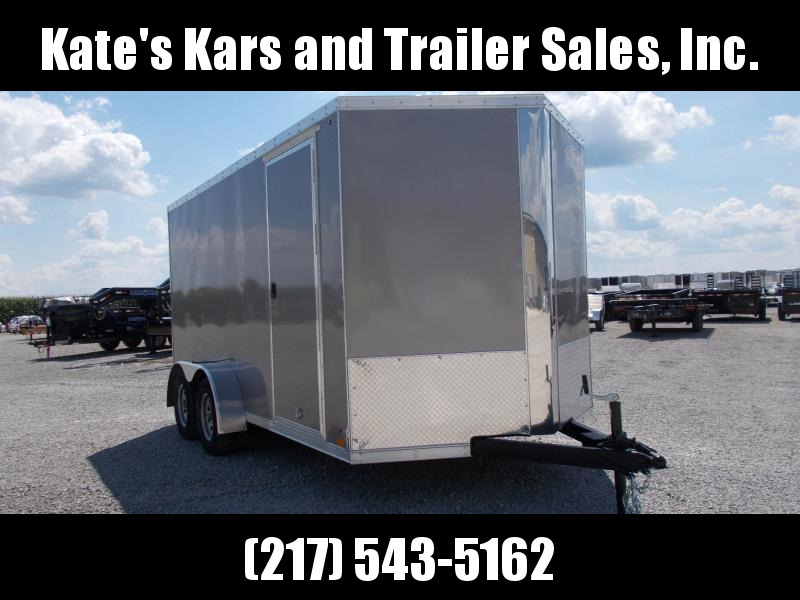 2019 Cross 7X14' Enclosed Trailer 6 IN Extra Tall