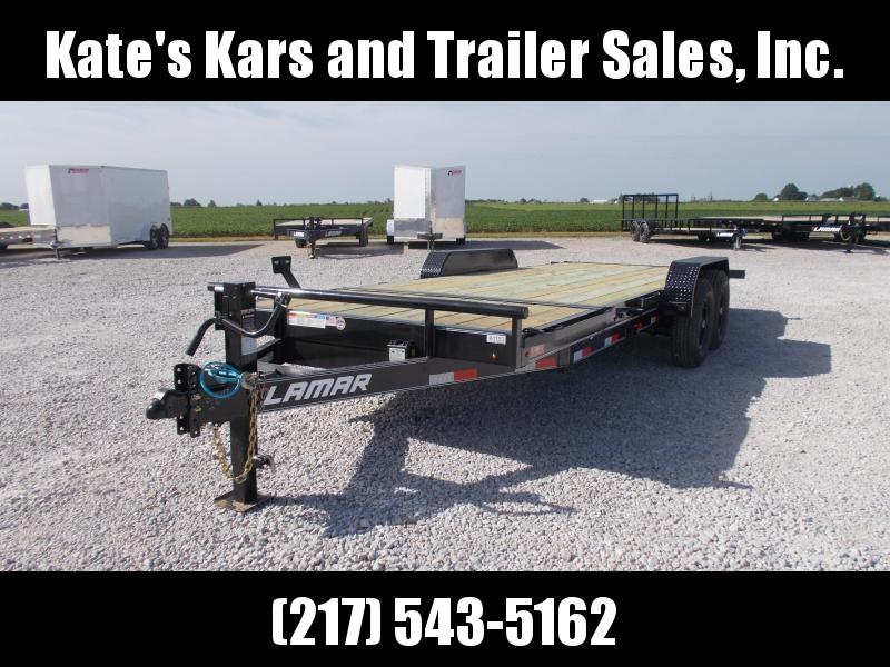 14K LB Lamar Trailers 83X20' Tilt Top Trailer Equipment Trailer
