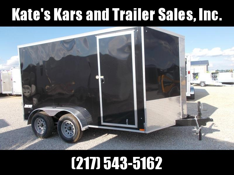 *NEW* Pace Extra Tall 7X12' Screwless Sides Enclosed Cargo Trailer