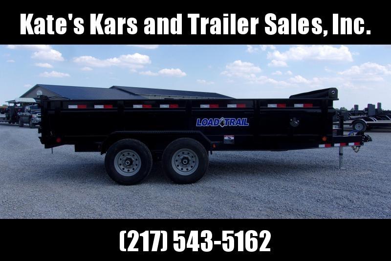*NEW* Load Trail 83X16' HD Dump Trailer 14K LB