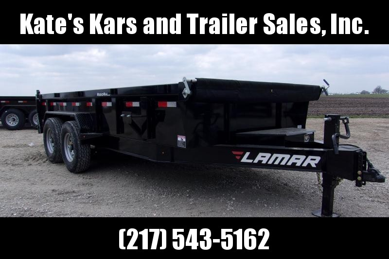 *NEW* Lamar 83X16' Low Pro Heavy Duty Dump Trailer