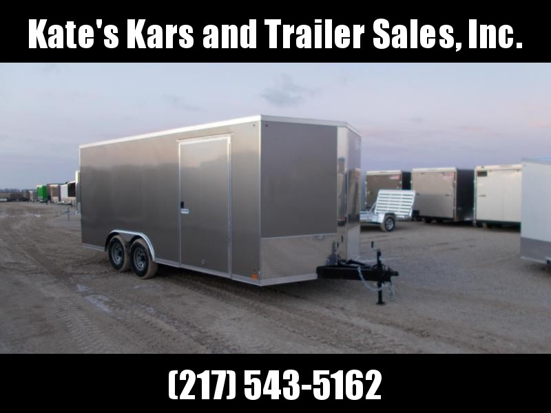 2020 Cross Trailers 8.5X18' HD 9990 LB GVWR Enclosed Cargo Trailer