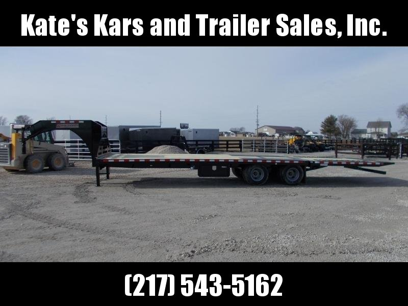 *NEW* Midsota 32' Hydraulic Dovetail Gooseneck Trailer Hydro Jacks Engineered I Beam in Ashburn, VA