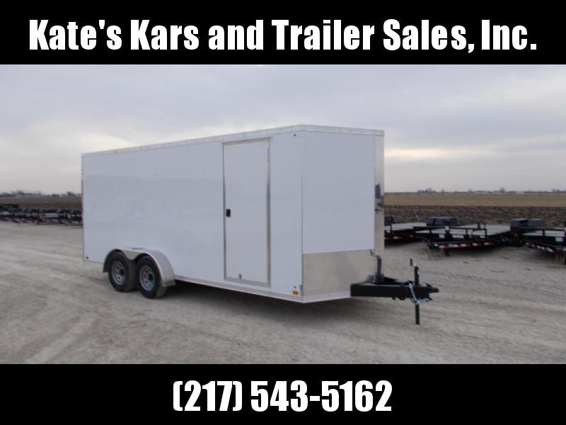 *NEW* Cross 7x18'  Enclosed Cargo Trailer 9990 LB