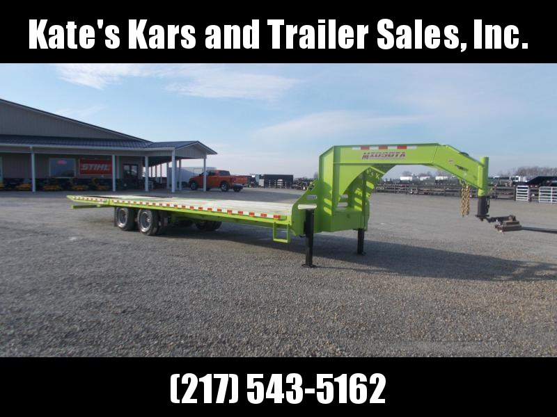 *NEW*  Midsota FB32' GN Hydraulic Dovetail Gooseneck Trailer Flatbed Trailer Hydro Jacks in Ashburn, VA