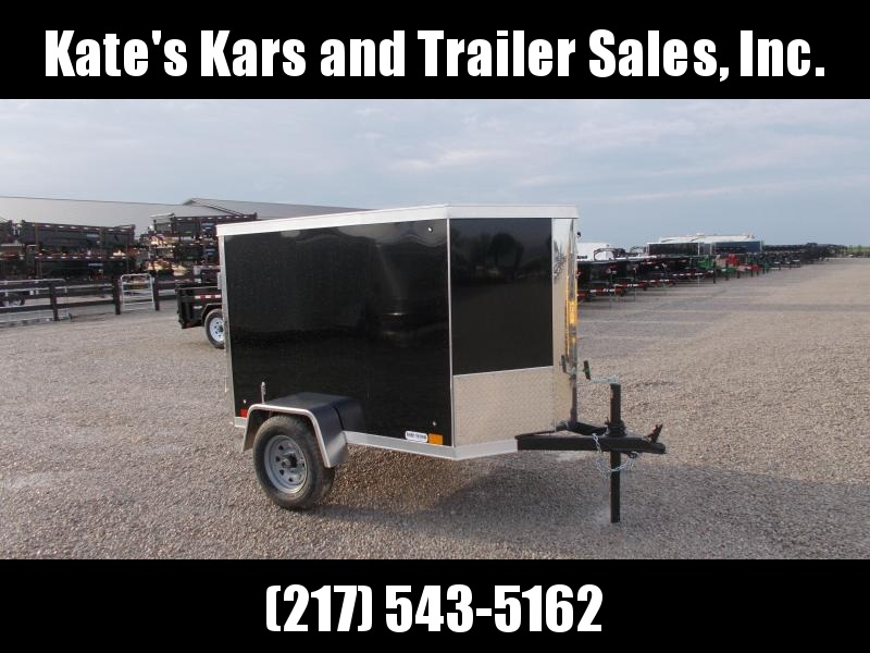 2020 Cross Trailers 4x6 Enclosed Box Enclosed Cargo Trailer