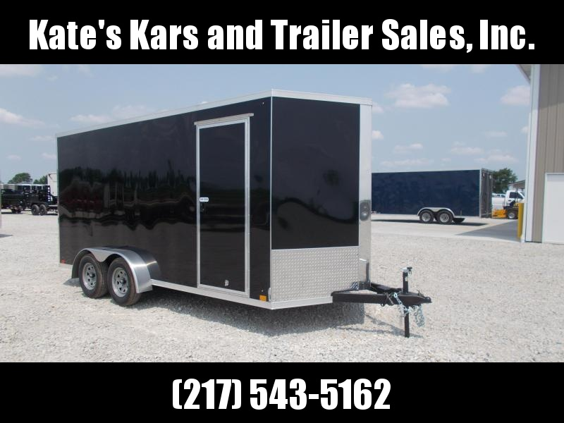 "*NEW* Cross  7X16' Extra 12"" Height Enclosed Cargo Trailer for UTV"
