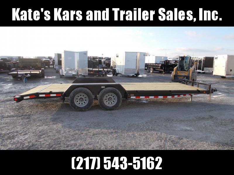 *NEW* Load Trail 83x20' Flatbed Trailer 9990 LB GVWR