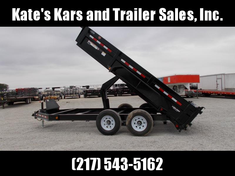 *NEW* PJ Trailers 83X14' Low Pro dump Trailer 14000 LB GVWR