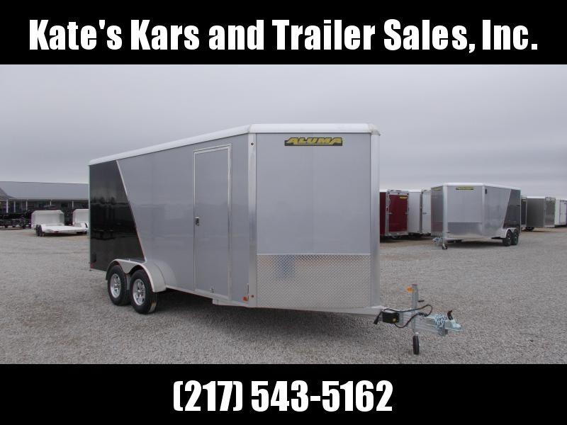 *NEW* Aluma 7X16' Aluminum Cargo Extra Tall Enclosed Trailer PULLS GREAT!!! in Ashburn, VA
