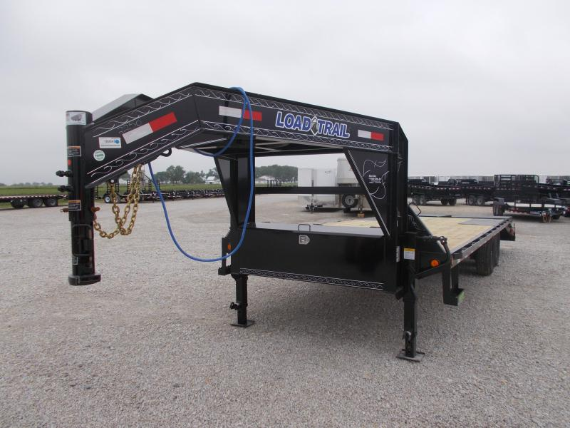 *NEW* Load Trail 14000 LB GVWR 102X25' Gooseneck Deckover Flatbed Trailer