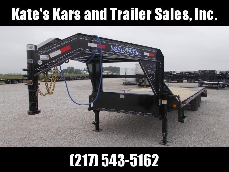 *NEW* Load Trail 14000 LB GVWR 102X25' Gooseneck Deckover Flatbed Trailer