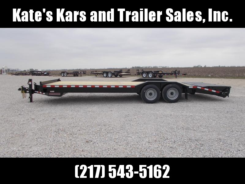 2019 Midsota 102X24 Equipment Trailer 16K LB Flatbed Trailer