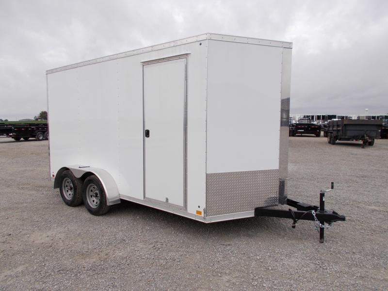 "*NEW* 7X14' 12"" Add Height Enclosed Cargo Trailer in Ashburn, VA"