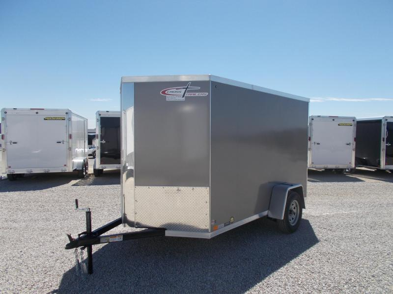*NEW* Cross Screwless Sides 6X10' Enclosed Cargo Box Trailer