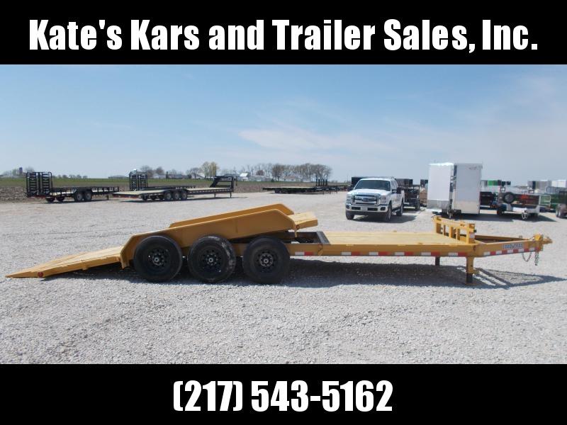 2019 Load Trail 83x24 Triple Axle Tiltbed Flatbed Trailer
