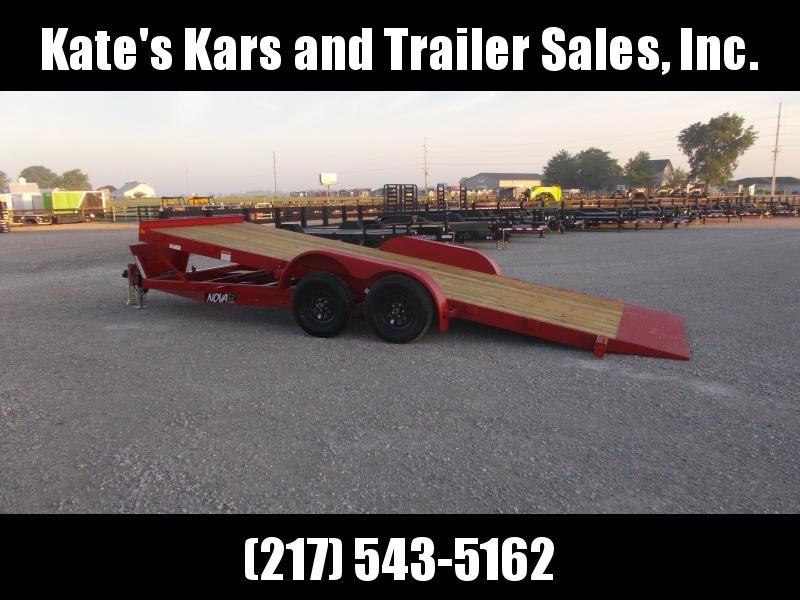 18' POWER TILT Car Hauler Trailer Midsota Nova For Sale  in Ashburn, VA