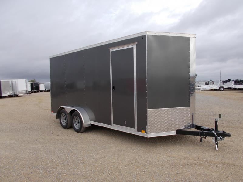 *NEW* Cross 7X16'  7' Interior Height heavy duty Trailer Enclosed Cargo