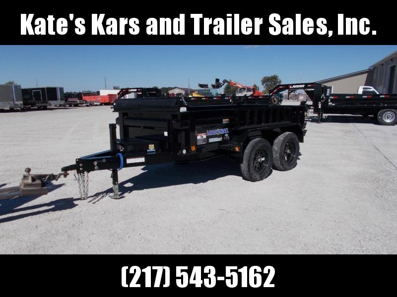 *NEW*  Load Trail 10' tandem axle dump trailer 7K LB