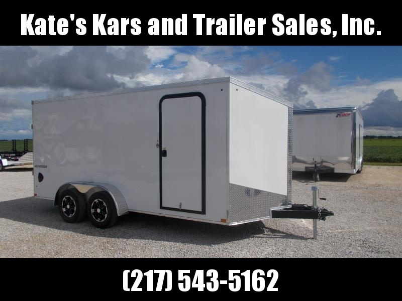 2020 Impact Trailers 7X16 Extra Tall Screwless Sides Enclosed Cargo Trailer in Ashburn, VA
