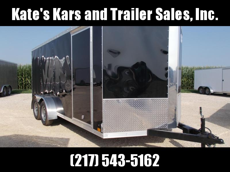 *NEW* Cross 7X16' HD Enclosed Cargo Trailer