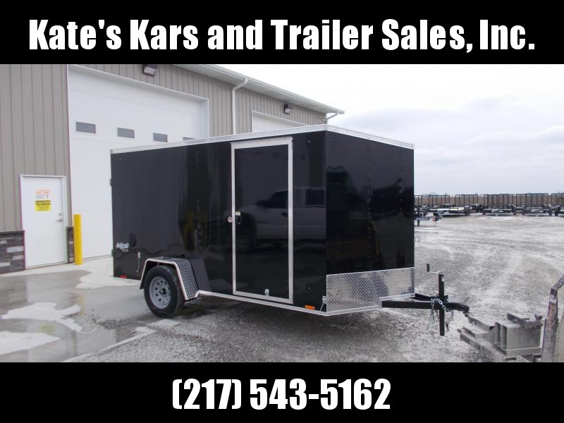 2020 Pace American 6X12' Enclosed Trailer Double Rear Door Enclosed Cargo Trailer