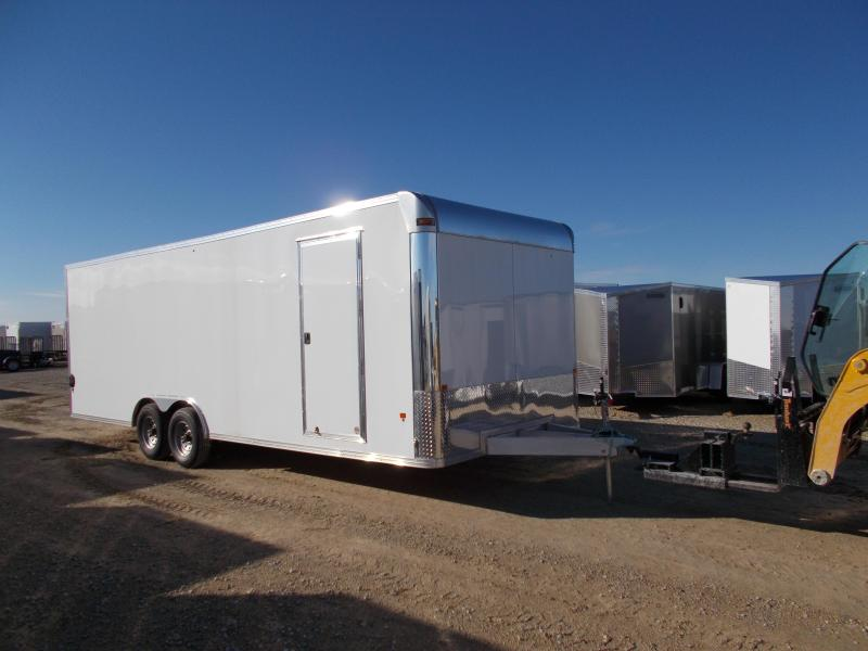*NEW* EZ Hauler 8.5X24' Stealth Aluminum Enclosed Trailer Car hauler