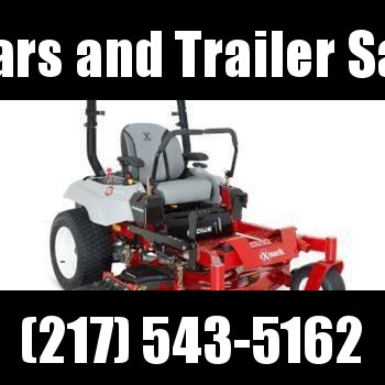 "LEFT OVER!! 2018 Exmark Radius E-Series 52"" zero turn mowers for sale in Illinois"