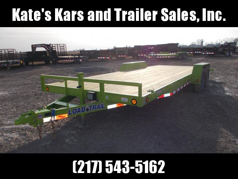 *NEW* Load Trail 22'  9990 LB Equipment Trailer SAFETY GREEN
