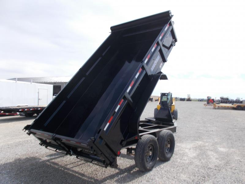 """*NEW* Load Trail 83""""X14' Dump Trailer 14K LB"""
