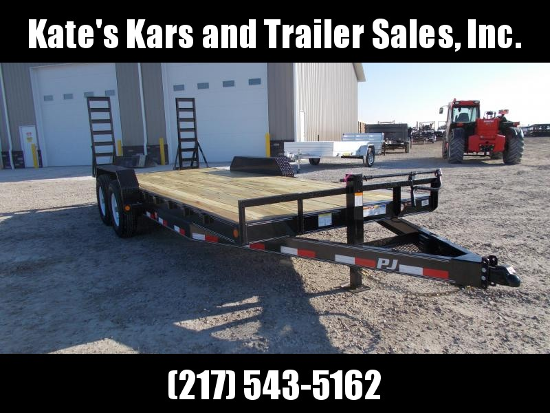 *NEW** PJ Trailers 83x20'  Equipment Trailer 14K LB