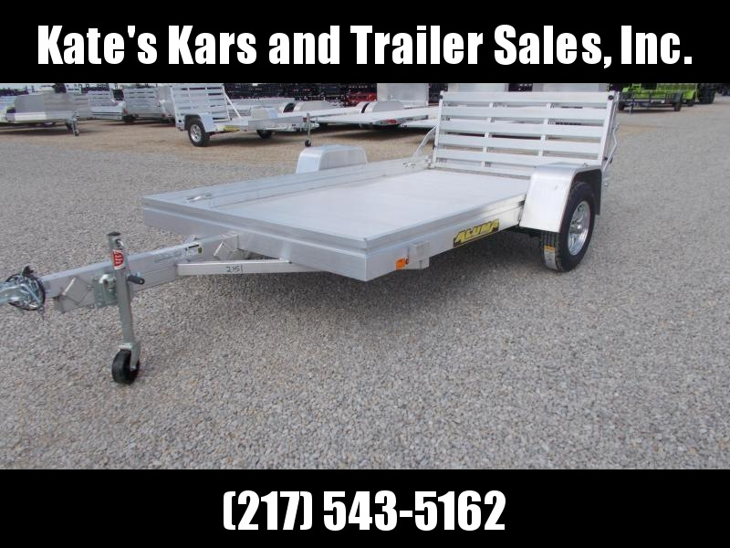 *NEW* 10' Aluma 6810BT Aluminum Bi-fold tailgate Utility Trailer for sale in illinois