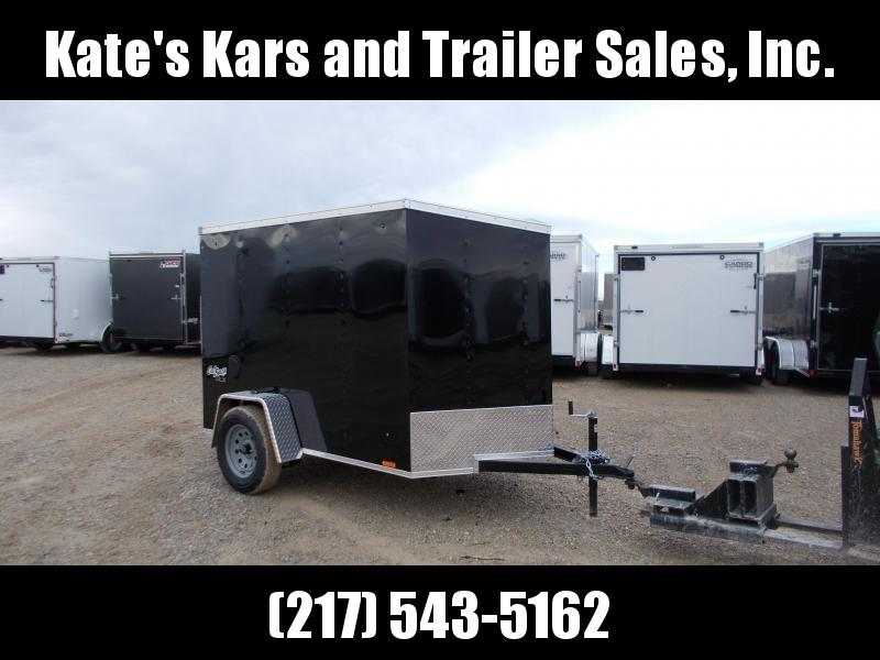 *NEW** Pace American 5X8' Enclosed Cargo Trailer w/ ramp door