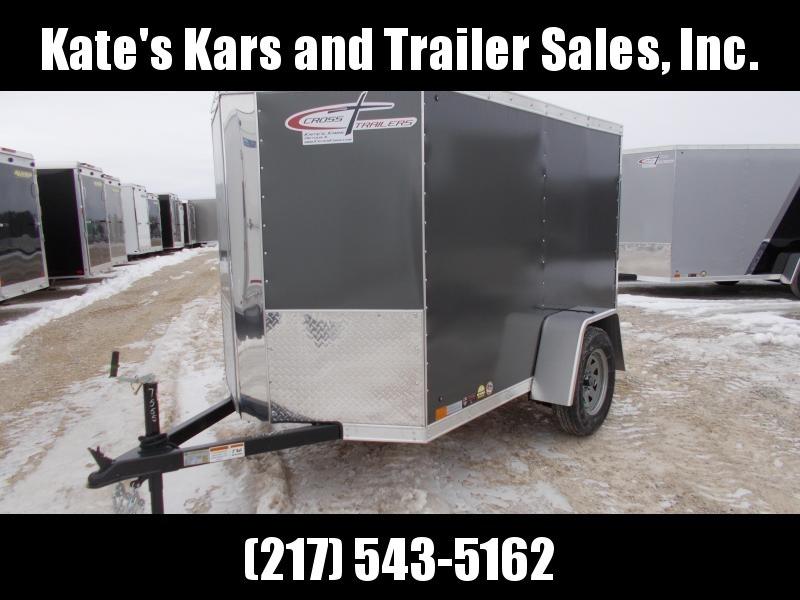 *NEW* Cross 5X8' Enclosed cargo Trailer Heavy Duty in Ashburn, VA