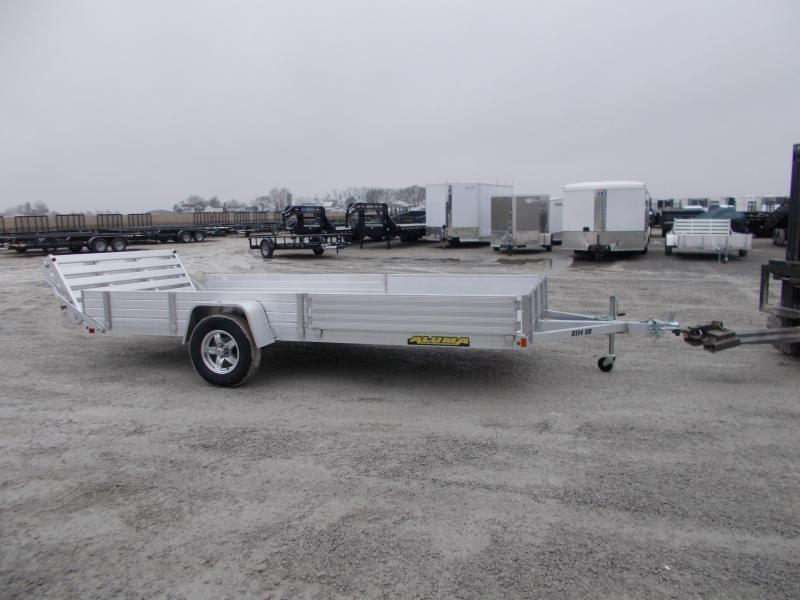 14' ATV 2020 Aluma 8114SR Aluminum ATV Utility Trailer 14 ATV Trailer