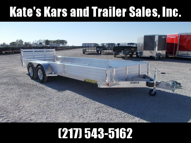 *NEW* Aluma 8120TA ATV Aluminum Trailer Tandem Axle