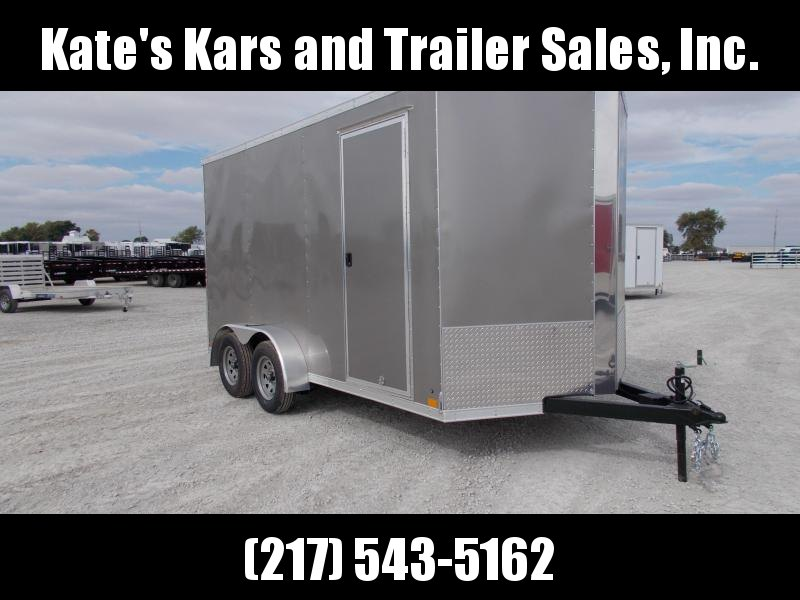 "*NEW* Cross 7x14 Enclosed Trailer with 12"" additional Height in Ashburn, VA"